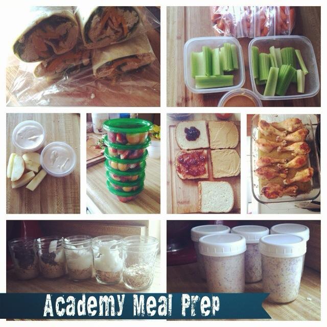 megan academy meal prep