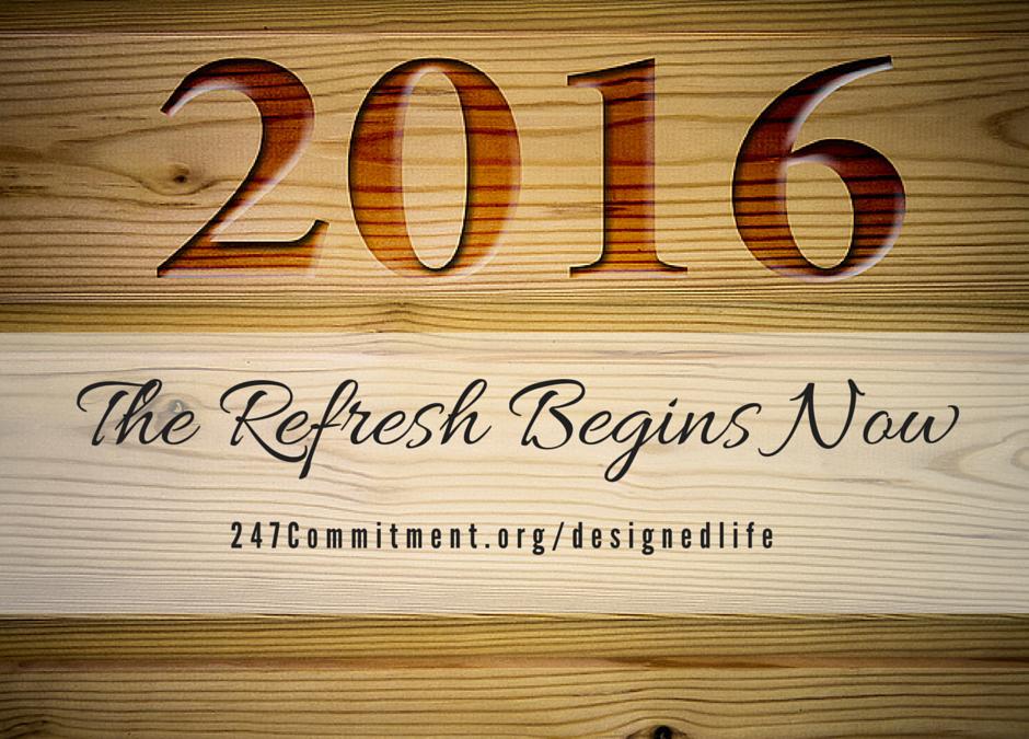 Make 2016 A Fresh Start?