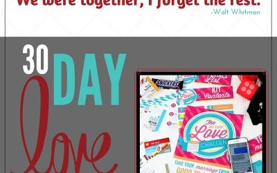30 Day Love Challenge