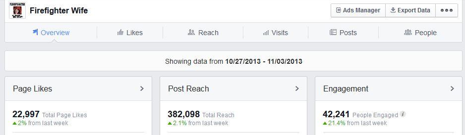 ffw fb page insights nov 4 2013