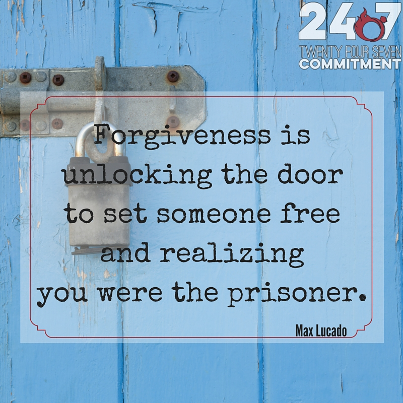 forgiveness is unlocking