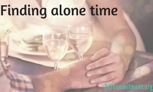 finding alone time