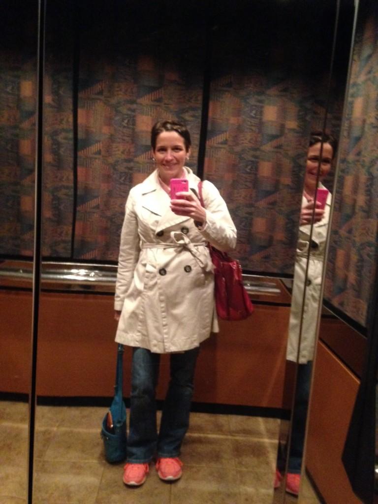 My 41st Birthday Selfie. Arms full. Heart fuller.