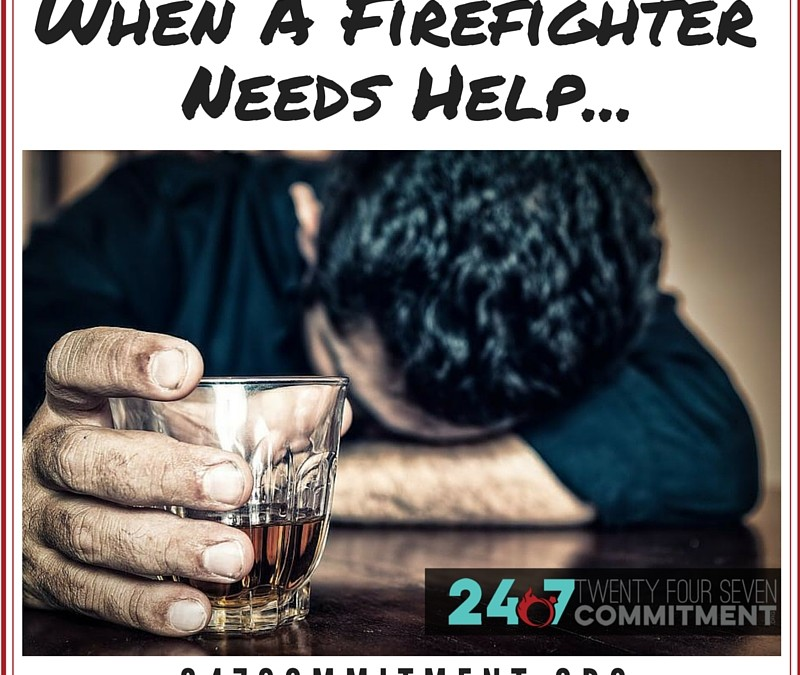When a Firefighter Needs Help