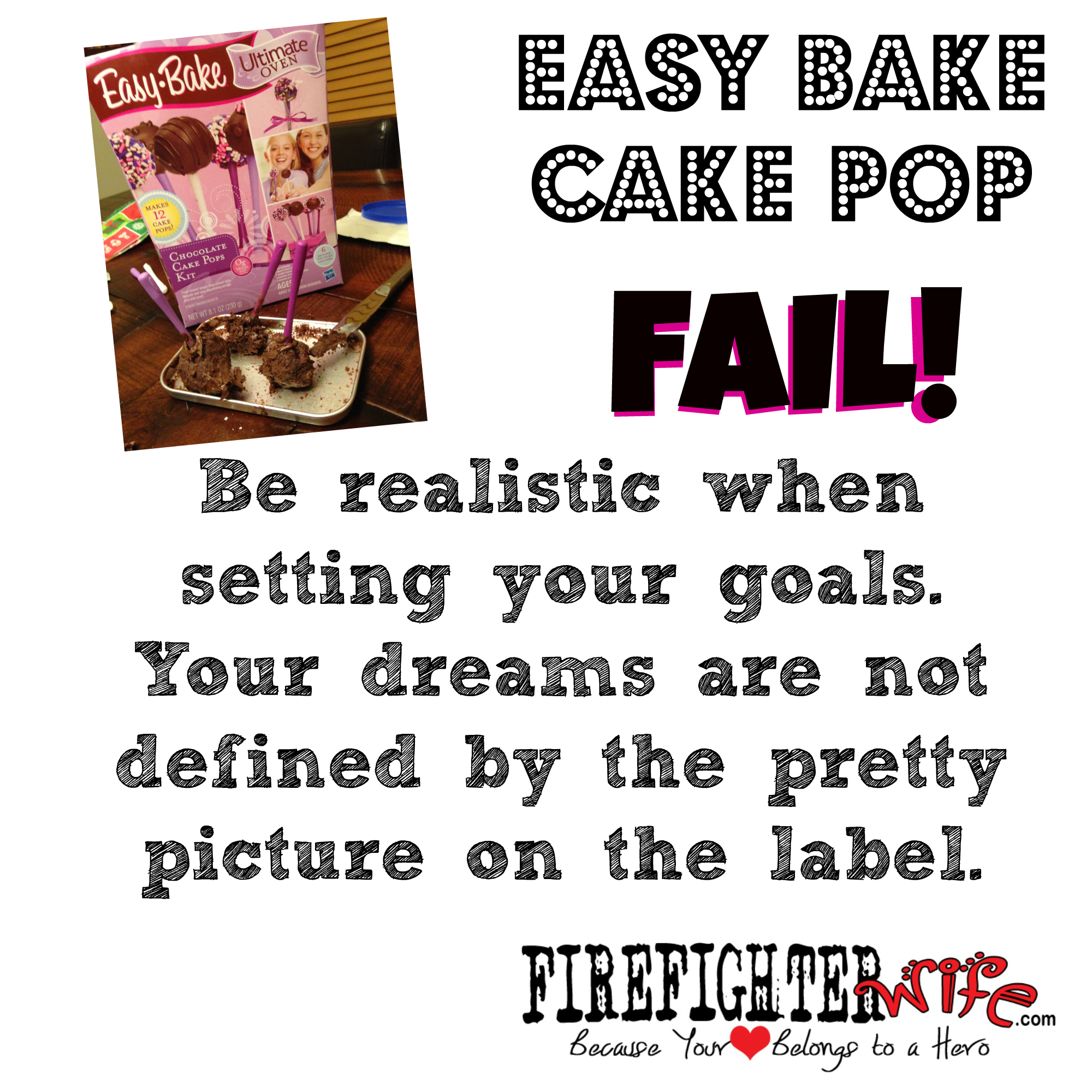 The Easy Bake Oven Fail – Setting Ourselves Up With the Wrong Expectations