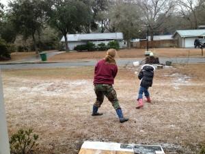 Week - ice war Storm