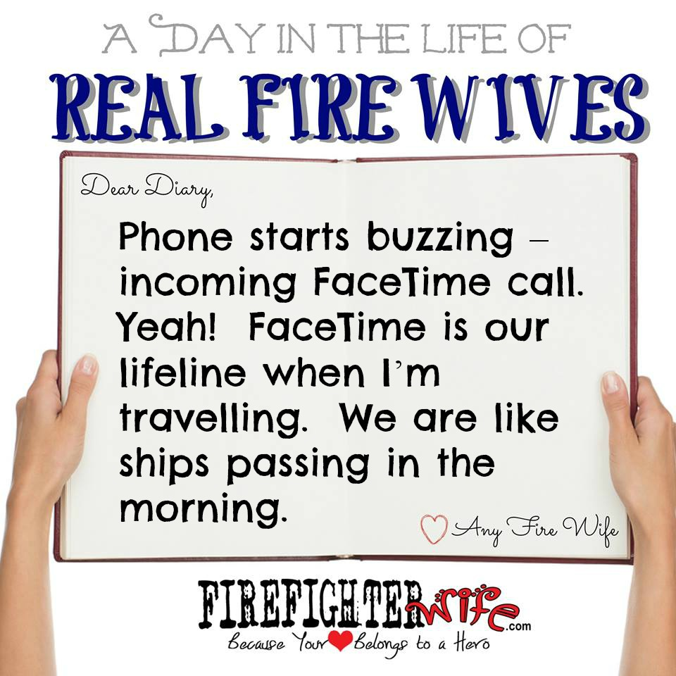 Diaries of Real Fire Wives – Day 1 – Reggie