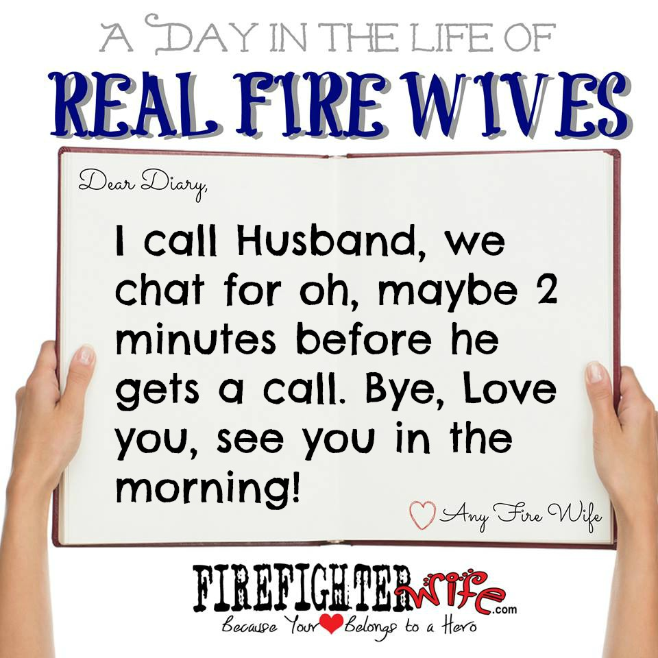 Diaries of Real Fire Wives – Day 3 – Reggie