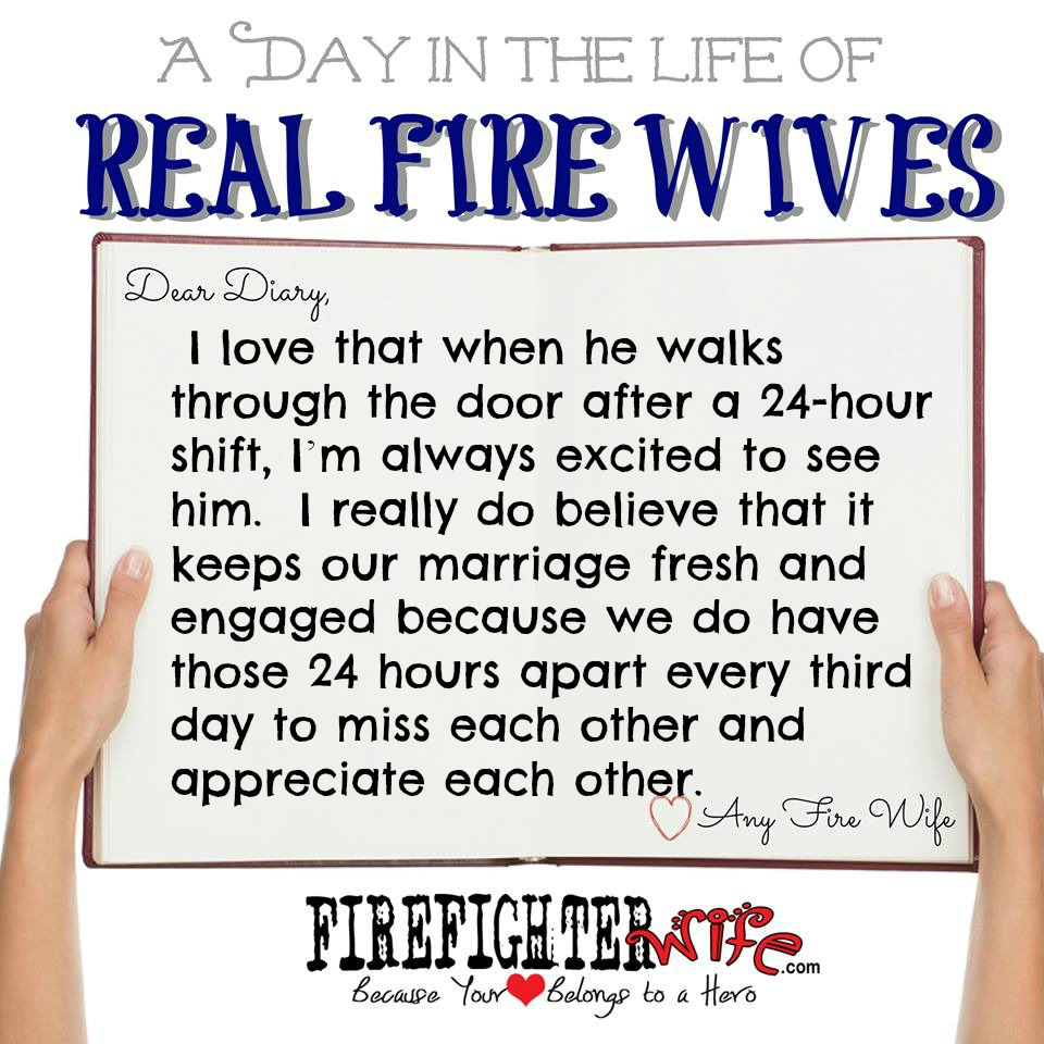 Diaries of Real Fire Wives – Day 4 – Reggie
