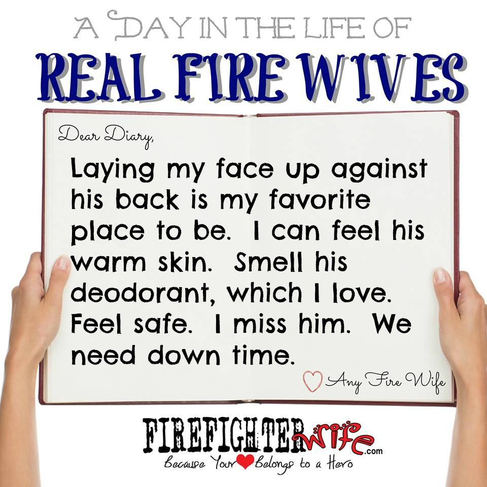 Diaries of Real Fire Wives – Day 4 – Jessie