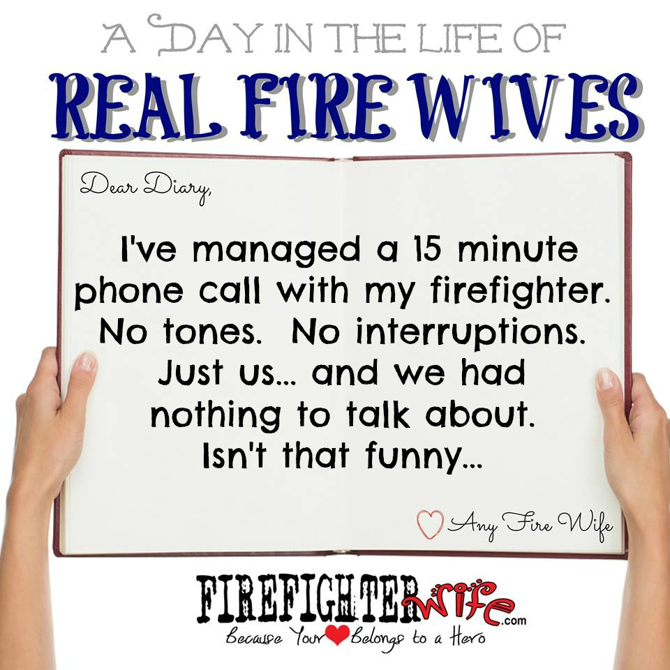 Diaries of Real Fire Wives – Day 5 – Jessie