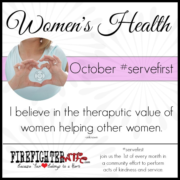 #servefirst {women's health}