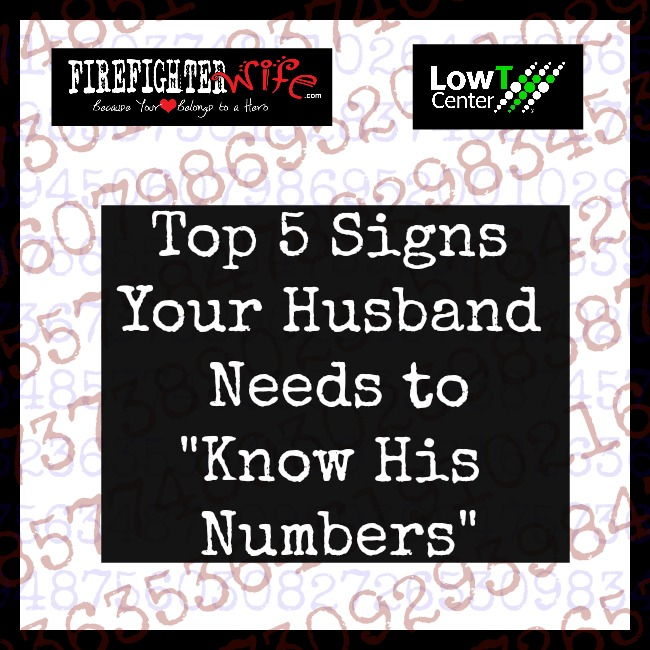 "Top 5 Signs Your Husband Needs to ""Know His Numbers"""
