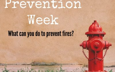 Fire Safety Week {Get out, stay out!}
