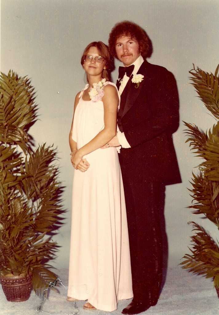 Sam and LeAnne at Prom 1