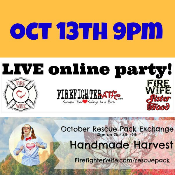 {fire wife sisterhood} October LIVE online Party & Rescue Packs