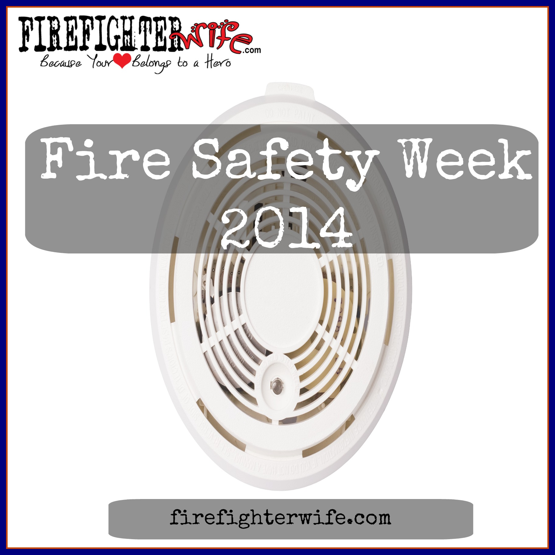 Fire Safety Week {Smoke Alarms (and free pizza) }