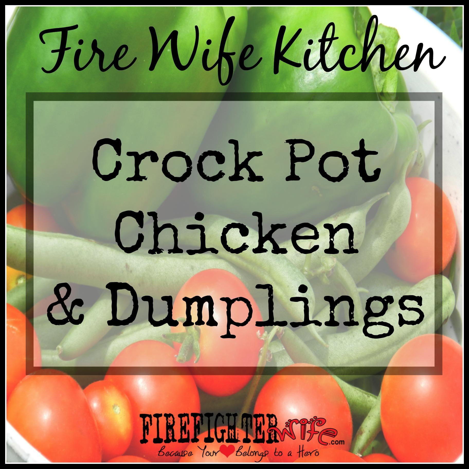 """Man Pleasing"" Crock Pot Chicken and Dumplins"