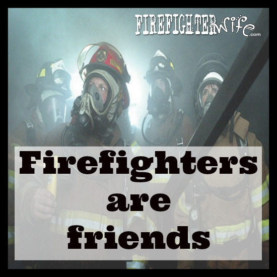 Fire Safety Week {firefighters are friends}