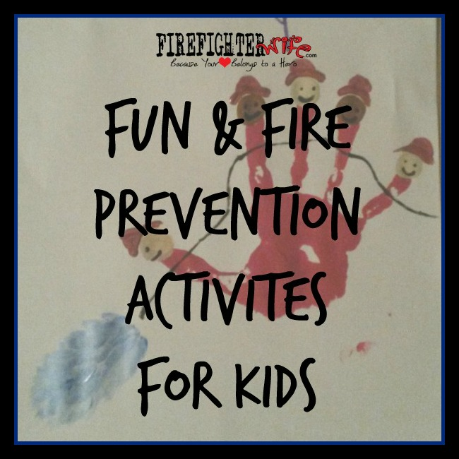 Fire Safety Week {fun for kids}