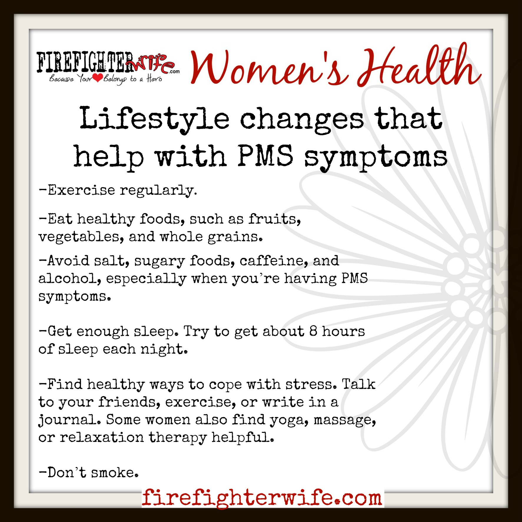 Women's Health {the monthly cycle}