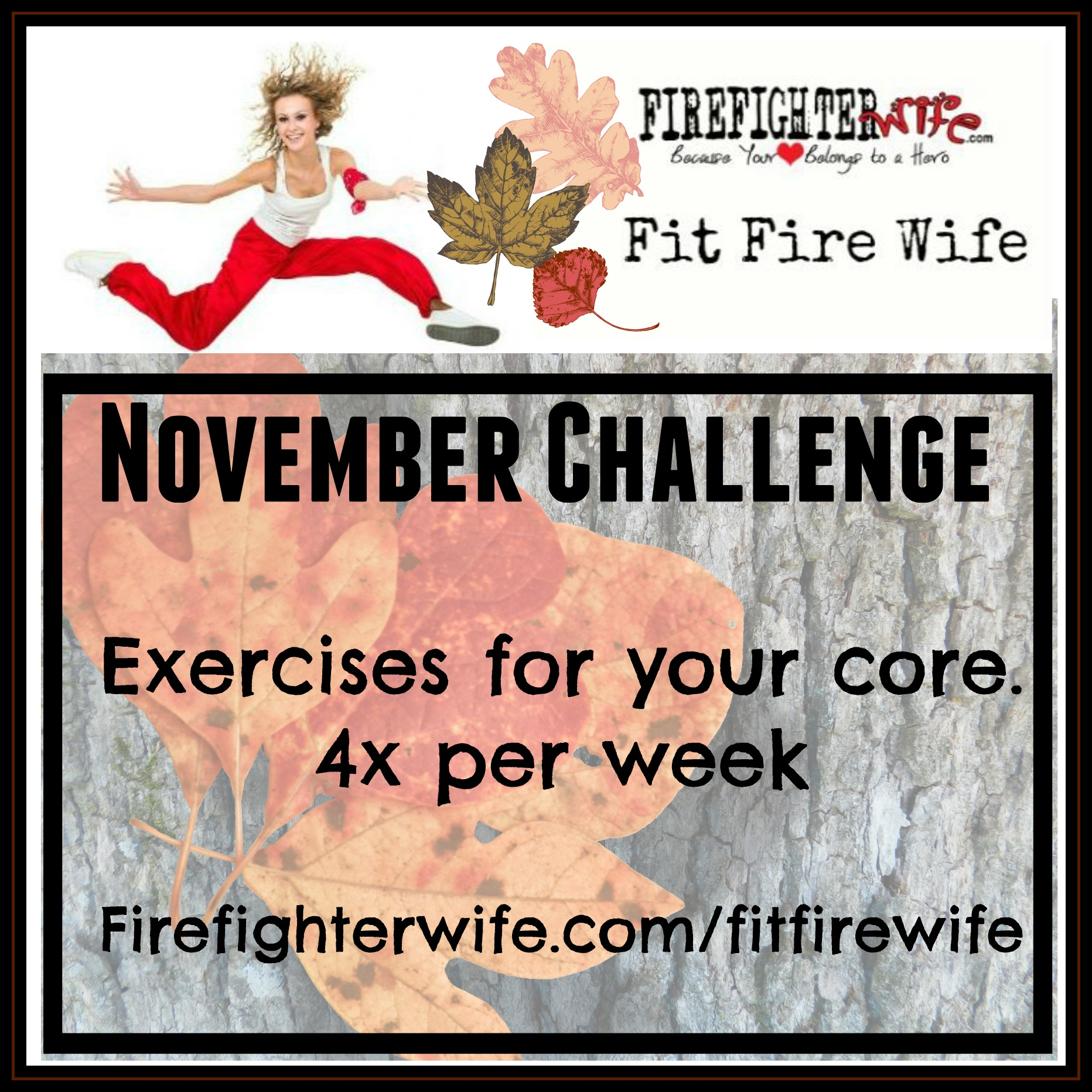 Fit Fire Wife {November Challenge}