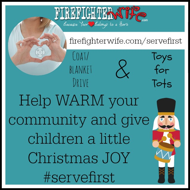 #servefirst {December Giving}
