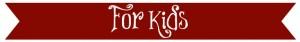 for kids banner