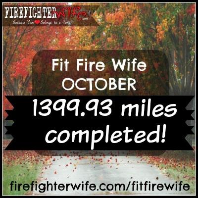 Fit Fire Wife October Recap