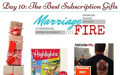 Gifts for Firefighters and Family Day 10: Subscription Gifts