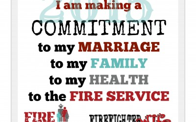 2015:  Commitment to the Fire Family Life