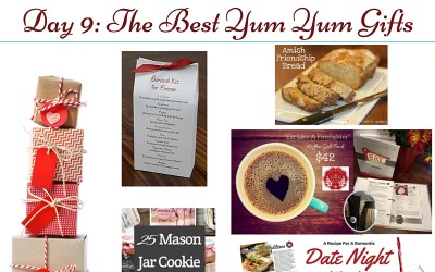 Gifts for Firefighters and Family Day 9: Yum Yums!