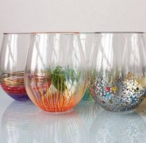 Gifts for firefighters and family day 11 diy gifts firefighter wife adding a little color to glassware can make a huge impact solutioingenieria Image collections