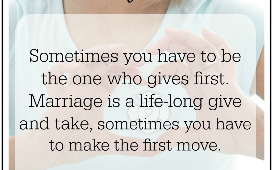 Firefighter + Fire Wife Wisdom {Making The First Move}