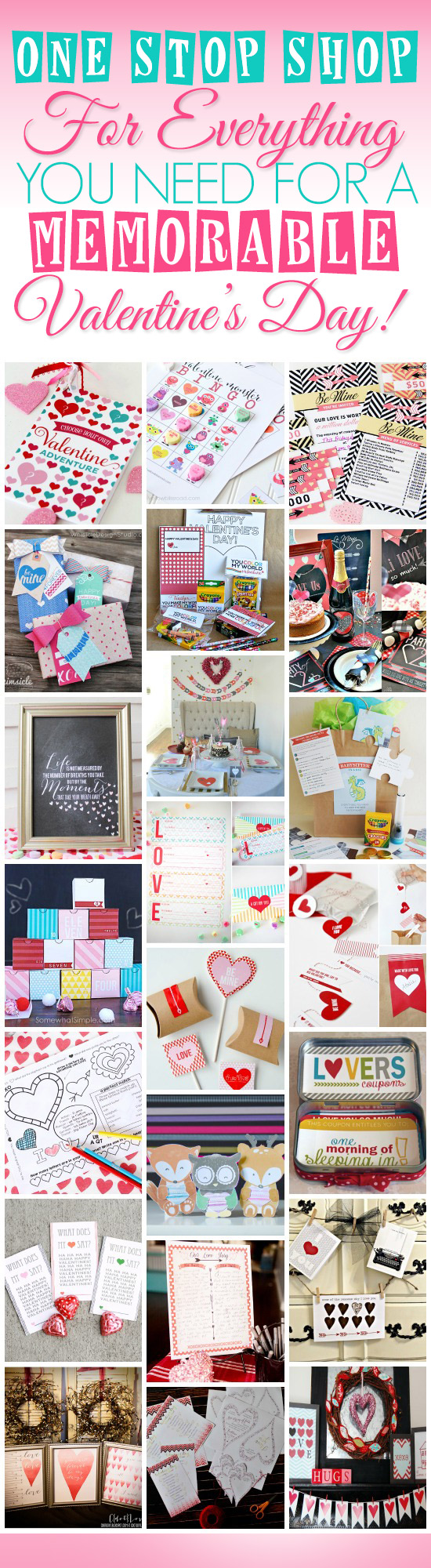Ultimate Valentines Pinterest