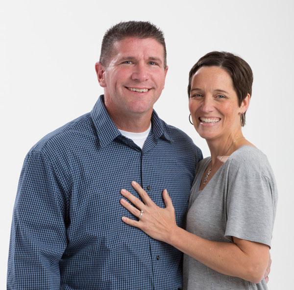 Dan and Lori Mercer