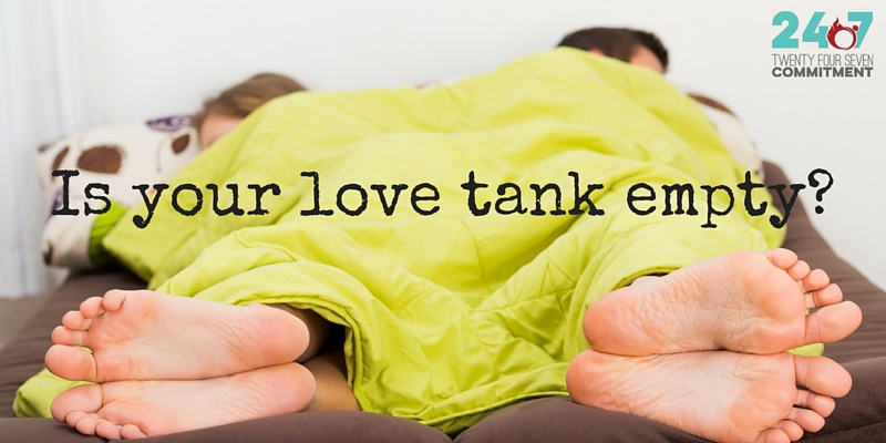 love tank empty