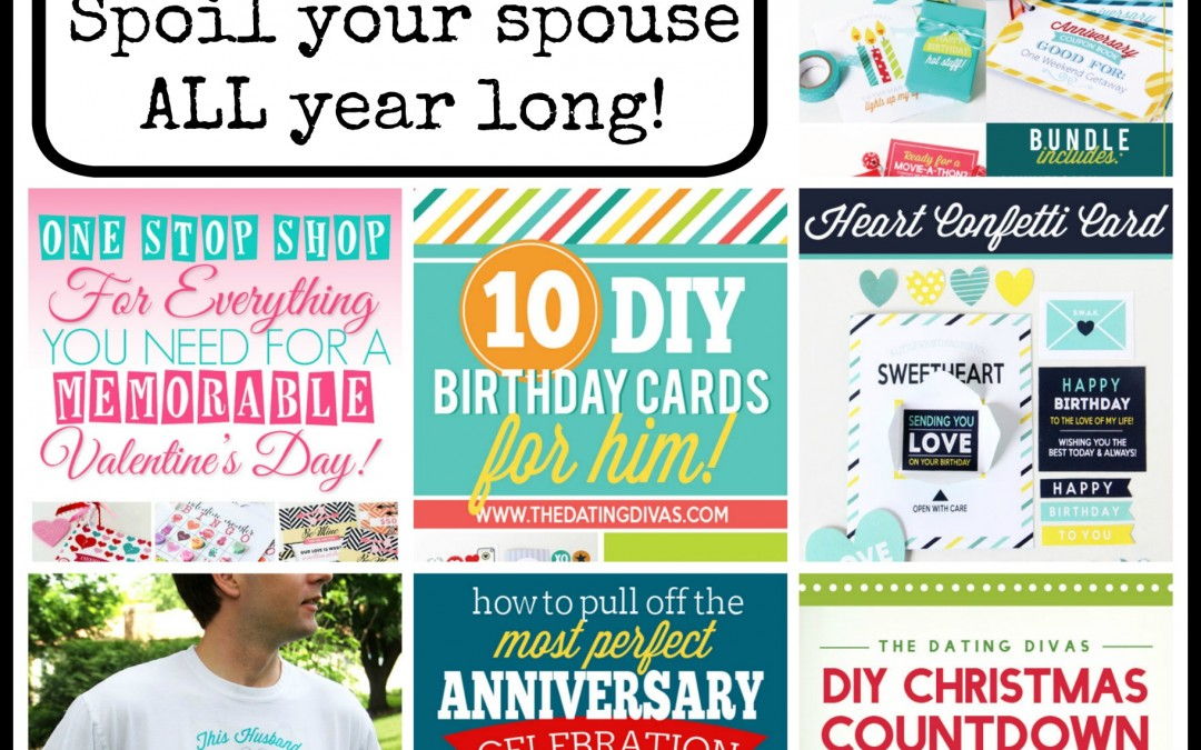 DIY:  Spoil Your Spouse All Year Long