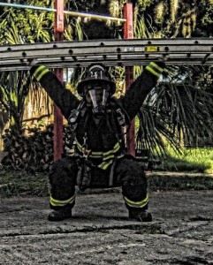 Kyle Kosianowski Nokomis Fire Dept. Firehouse 41, Nokomis FL. Photo snapped by Brandon Stockfis