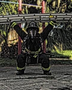 Kyle Kosianowski Nokomis Fire Dept. Firehouse 41, Nokomis FL. Photo snapped by Brandon Stockfis