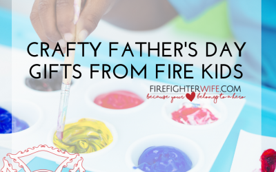 Fire Kid Crafts for your Firefighter