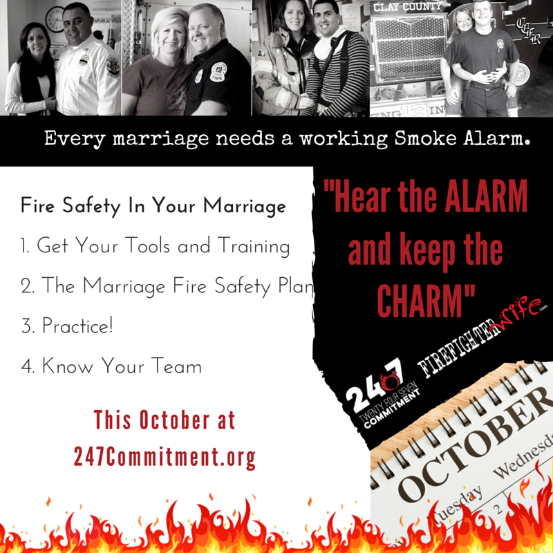 Fire Safety For Your Marriage - Firefighter Wife
