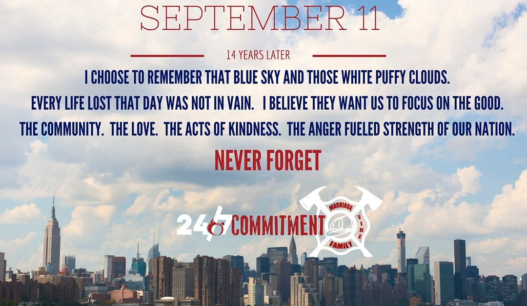 On September 11 Choose Your Positive Action