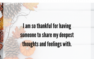 Marriage Gratitude 23: Deep Feelings