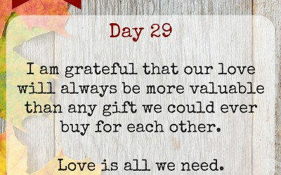 Marriage Gratitude 29: The Best Gift