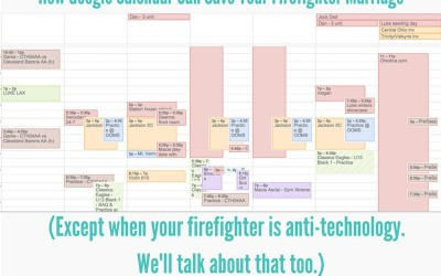 How We Track Schedules in a Fire Marriage