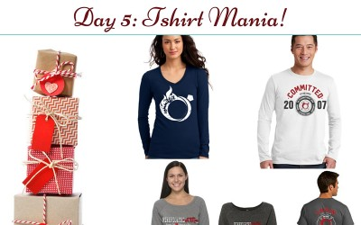 Gifts for Firefighters and Family Day 5: Shirt MANIA