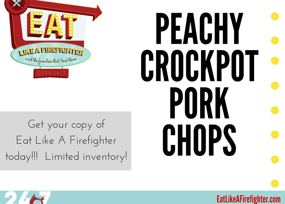 Peachy Crockpot Pork Chops