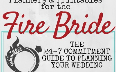 Wedding Planning {for the Fire Bride}