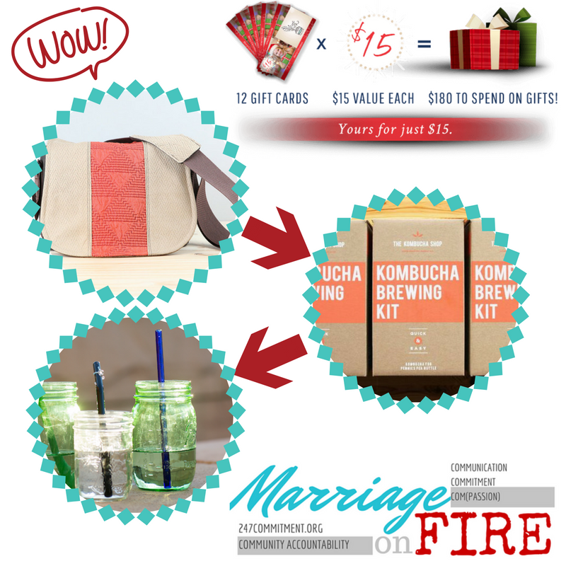 So many great gifts from incredible companies - luckily we can get something from all of them!